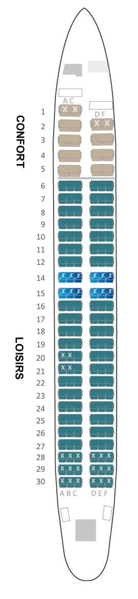 siege air austral boeing 737 800 air austral plan cabine visite en 360