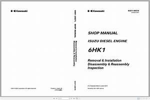 Kawasaki Wheel Loader Service  U0026 Part Manual And Circuit