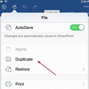 How to save microsoft office files locally on ipad for Documents saved on ipad