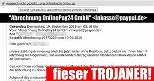 Abrechnung Pay Online24 Gmbh : warnung vor der e mail abrechnung onlinepay24 gmbh mimikama ~ Themetempest.com Abrechnung