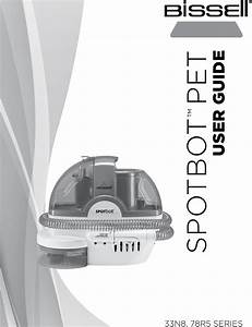 Bissell Spotbot Pet 33n8t Owners Manual