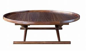 matthiessen coffee table type three in oiled walnut for With types of coffee tables