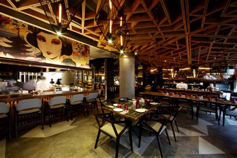bam senju restaurant  metaphor interior  plaza