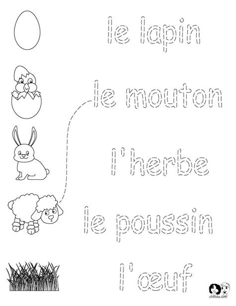 143 best french worksheets for children fran 231 ais