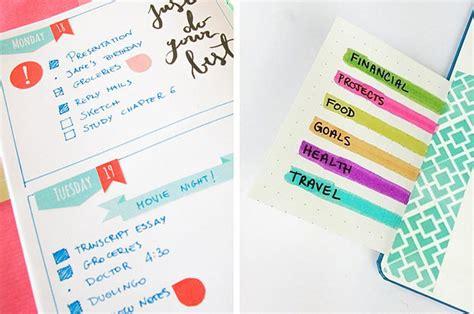 bullet journal ideas   borderline genius