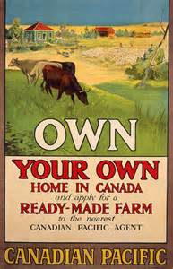 Immigration Canada West Poster