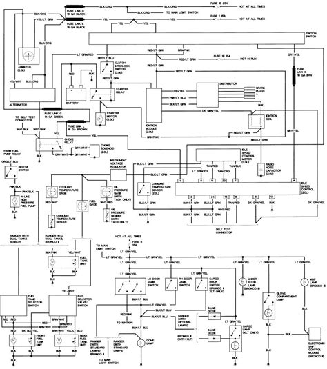 Ford Bronco Wiring Diagram Electrical Website Kanri