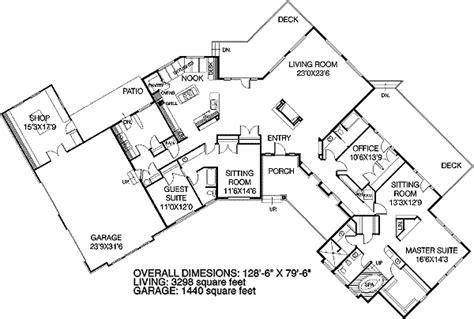 C Shaped Home Designs : V Shaped House Plans