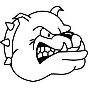 Free Bulldog Coloring Pages