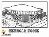Coloring Pages Dome Georgia Stadium Baseball Clipart Football Colouring Clipground Ga Stadiums Library Clip Comments sketch template