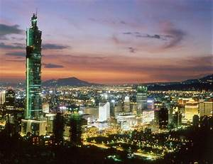 台湾著名旅游景点 - 台湾八大景点:台北101大楼 - 美景旅游网