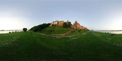 medieval town  sunset environment panoramas