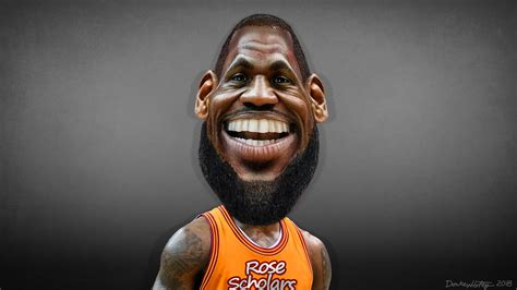 lebron james caricature lebron raymone james sr aka