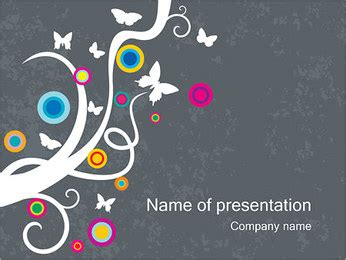 spring creative powerpoint template backgrounds id