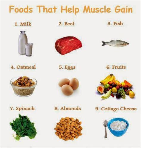 eat  gain muscle mass build muscle