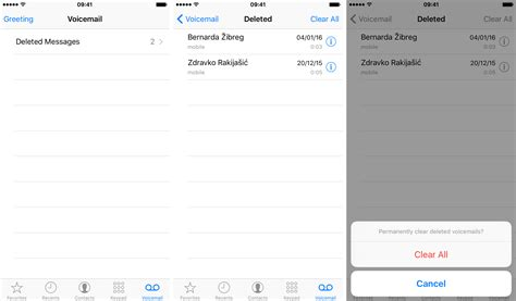 how to leave a voicemail without calling iphone how to permanently delete voicemails on iphone mid