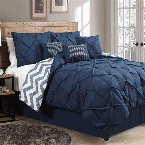 navy blue comforter ideas  pinterest