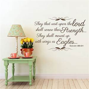 Isaiah christian wall decal divine walls