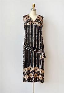 Vintage 1920s dress / 1920s flapper dress / vintage 20s ...