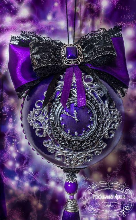 purple christmas ideas  pinterest purple