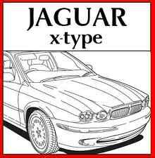 car repair manuals online free 2002 jaguar x type user handbook jaguar x type repair manual ebay