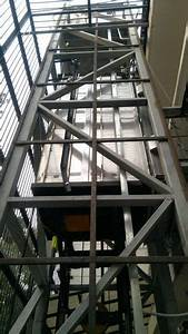 Ample Without Machine Room Structural Shaft Passenger Lift