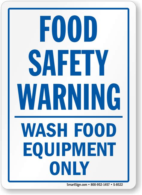 Kitchen Safety Labels by Food Safety Signs Kitchen Safety Signs