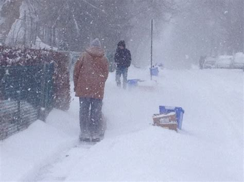 Weather Radar Kitchener by Many Still Digging Out As Snowfall Warnings End Ctv