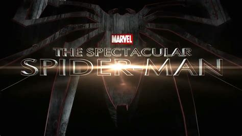 spectacular spider man title sequence fan