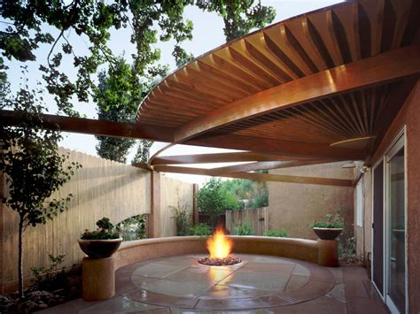 covered pit in ground pit ideas hgtv
