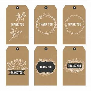 26 favor tag templates psd ai free premium templates for Free printable thank you tags template