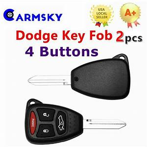 2 For 2006 2007 Dodge Charger Keyless Entry Remote Smart