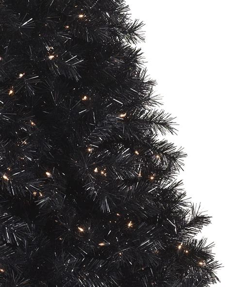 tuxedo black christmas tree treetopia uk