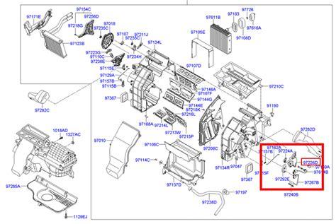 OEM HAVC Heater Door Actuator Hyundai Sonata, Santafe ...