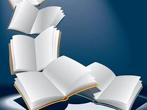 Open flying books Backgrounds Presnetation - PPT