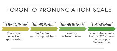 Proper Pronunciation Of Meme - finally the correct pronunciation toronto