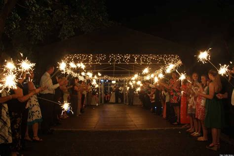 real fireworks   wedding day huffpost