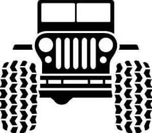 cartoon jeep front jeep clip art for cup inserts and iron on transfers