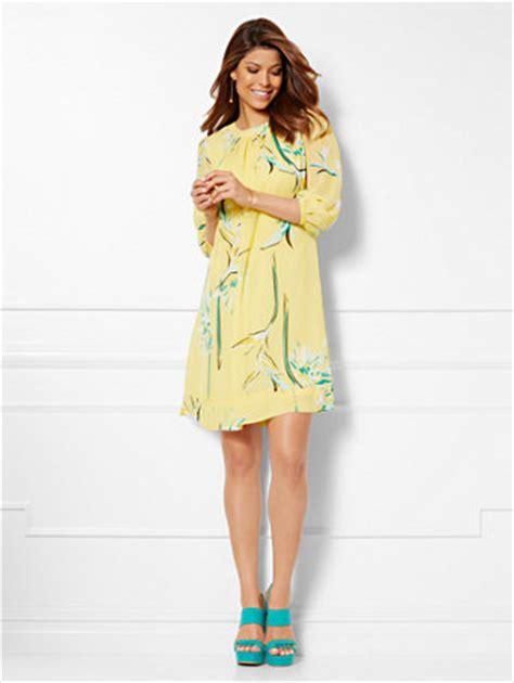 ny c mendes collection sabrina dress floral