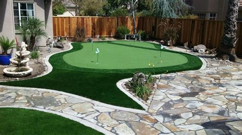 Backyard Artificial Putting Green by Brentwood Ca Backyard Putting Green Forever Greens