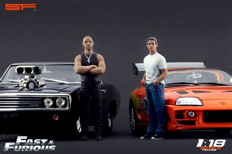 Vin Diesel Fast And Furious Car by Scale Figures Releases Fast And Furious Famed Paul Walker