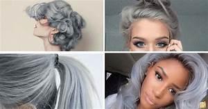 Coloration Cheveux Gris Perle : coloration cheveux gris perle finest couleur cheveux ~ Nature-et-papiers.com Idées de Décoration