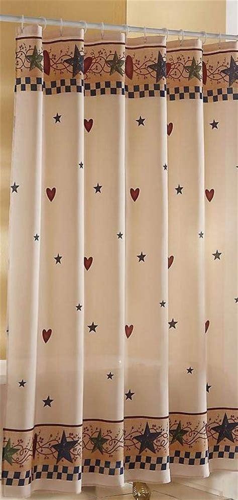 primitive hearts and stars shower curtain curtain menzilperde net