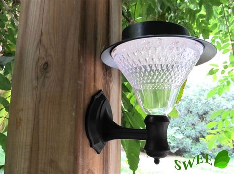 solar l 16 leds outdoor wall lights solar garden light