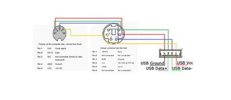 Usb To Ps2 Wiring Diagram by Ps2 To Usb Wiring Diagram Vivresaville Www App Co