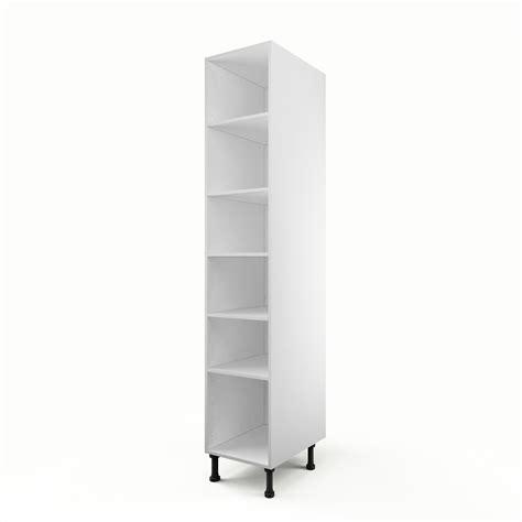 caisson colonne cuisine caisson de cuisine colonne c40 200 delinia blanc l 40 x h 215 x p 56 cm leroy merlin