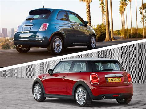 Fiat Mini Cooper by 2017 Mini Cooper Vs 2017 Fiat 500 Which Is Best