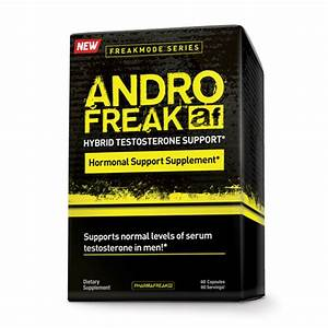 Pharmafreak Andro Freak 60 Caps