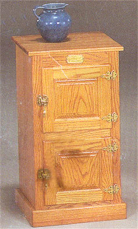 white clad 2 door icebox table clayborne s amish furniture