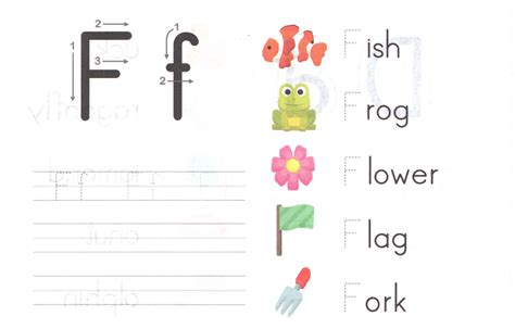 Preschool Letter Ff Worksheet. Preschool. Best Free